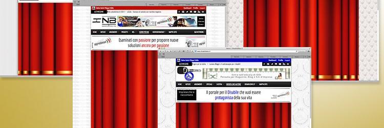 I&B – Screenshot delle testate I&B Network