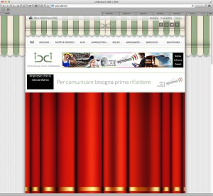 Ideas & Business S.r.l. – Screenshot della home page di IDDI.biz