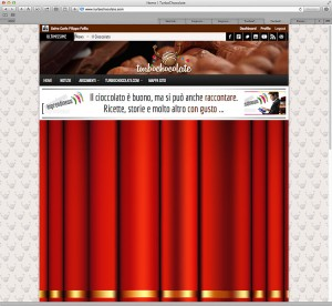 Ideas & Business S.r.l. – Screenshot della home page di Turbochocolate.com