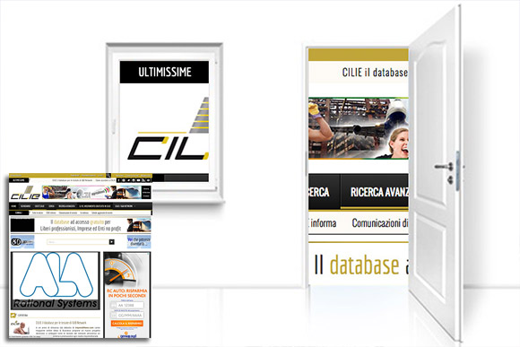 I&B – Immagine promozionale del Portale CILIE