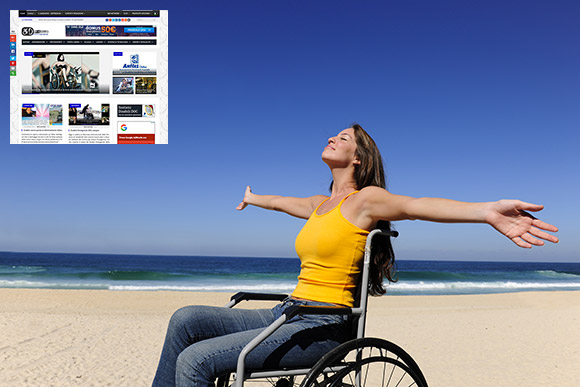 I&B – Immagine promozionale del Magazine online DisabiliDOC.it