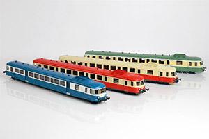 Proto Models – SNCF X2800 nelle 4 differenti livree