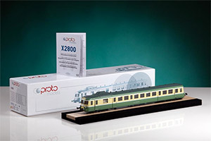 Packing is important for precious and delicate objects like this models. Proto Models propose a solution much appreciated for robustness and easiness with which you remove and stow the rail car.